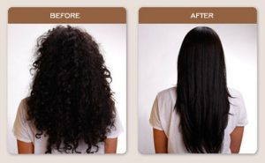 Brazilian Blowouts Before and After
